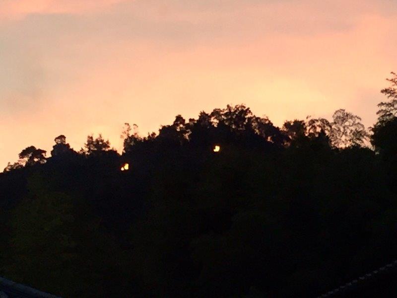 空撮現場リポート(号外速報) 京都五山送り火を空撮する! その2
